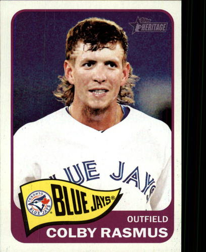 Photo of 2014 Topps Heritage #229 Colby Rasmus