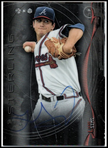 Photo of 2014 Bowman Sterling Prospect Autographs #BSPALSI Lucas Sims