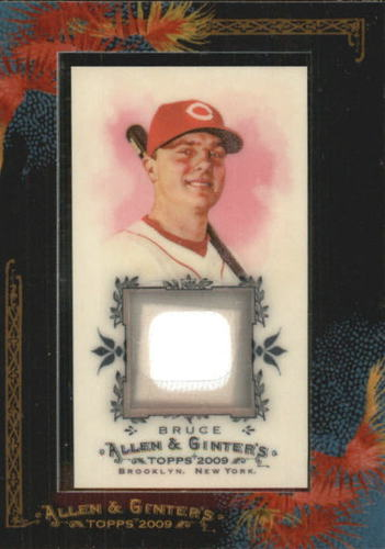 Photo of 2009 Topps Allen and Ginter Relics #JB Jay Bruce Jsy D
