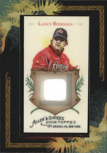 Photo of 2008 Topps Allen and Ginter Relics #LB Lance Berkman Jsy C