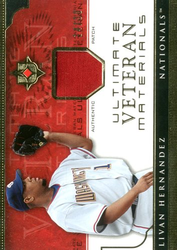 Photo of 2005 Ultimate Collection Veteran Materials Patch #LH Livan Hernandez/30