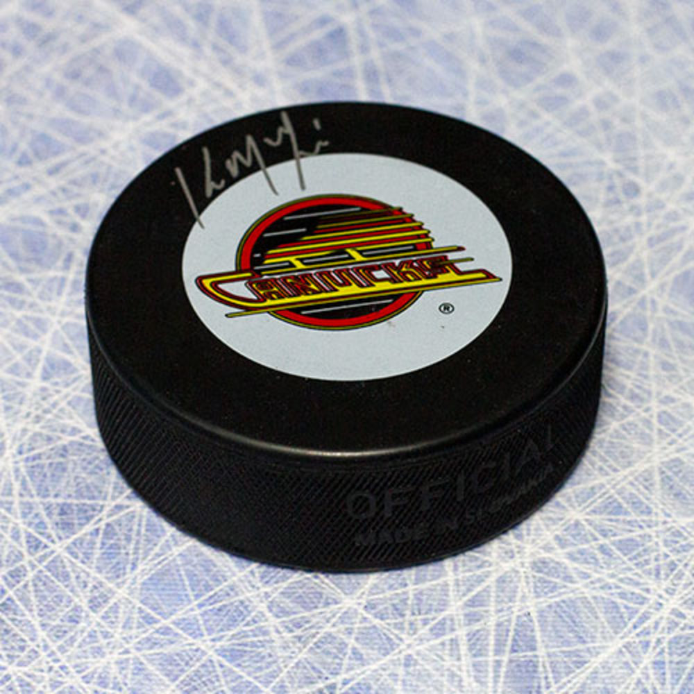 Kirk McLean Vancouver Canucks Autographed Hockey Puck