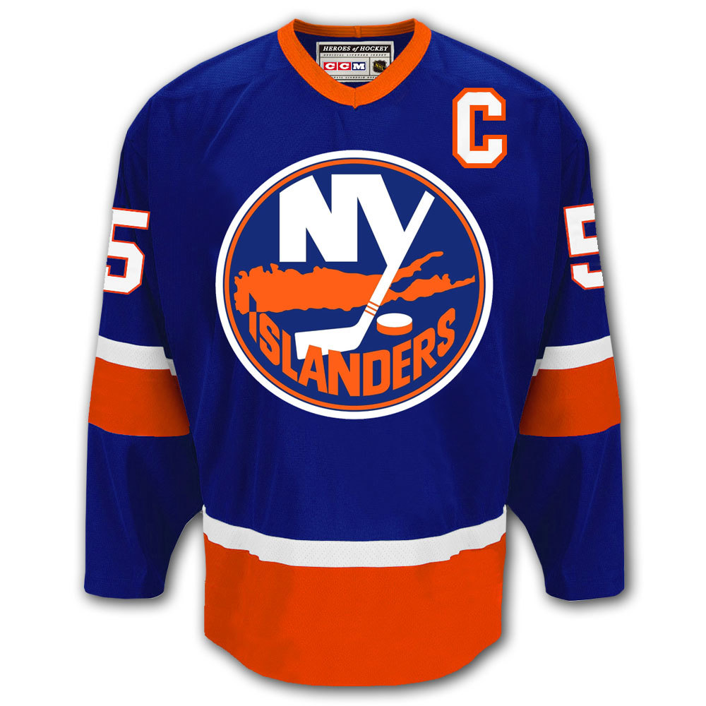 e8de4ccfb06 Denis Potvin New York Islanders HOF CCM Autographed Jersey - NHL ...