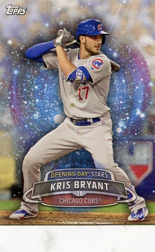 Photo of 2017 Topps Opening Day Opening Day Stars Kris Bryant