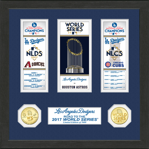 "Photo of Los Angeles Dodgers 2017 NL Champions ""Road to the World Series"" Photo Mint"