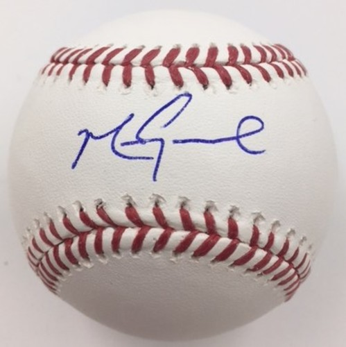 Photo of Mark Grace Autographed Baseball