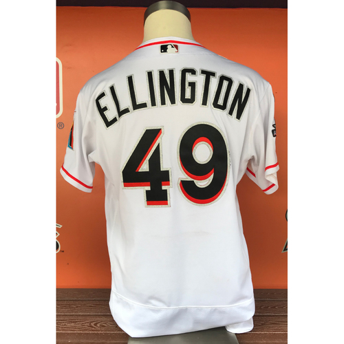 Photo of Game-Used Jersey: Brian Ellington 2017 Final Home Game