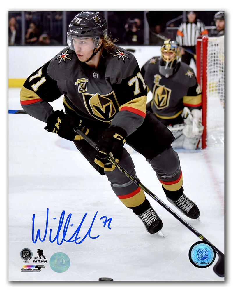 William Karlsson Vegas Golden Knights Autographed Inaugural Season 8x10 Photo