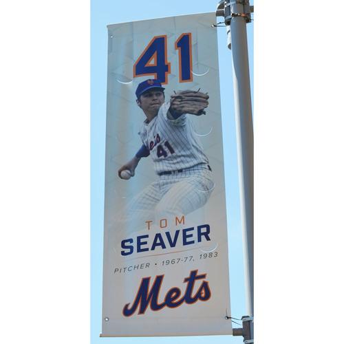 Photo of Tom Seaver - Citi Field Banner - 2017 Season