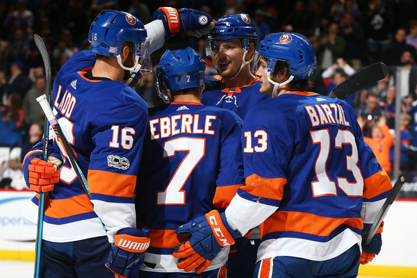 Clickable image to visit New York Islanders vs. Vancouver Canucks