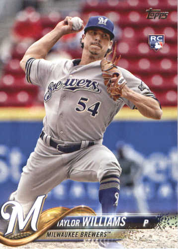 Photo of 2018 Topps #505 Taylor Williams RC