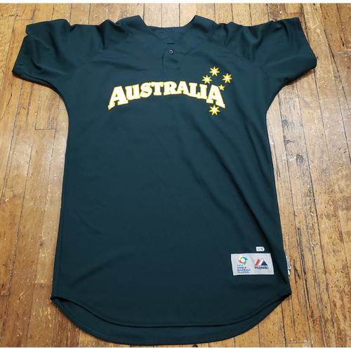 Photo of 2013 World Baseball Classic Game Used Jersey - Chris Snelling - Size 44 (Australia)
