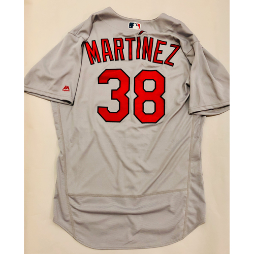 Photo of 2019 Mexico Series Game Used Jersey - Jose Martinez Size 46 (St. Louis Cardinals)