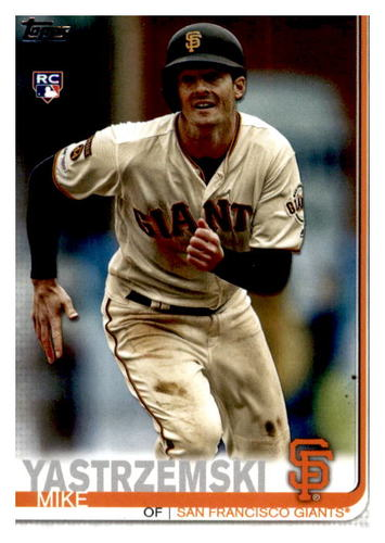 Photo of 2019 Topps Update #US245 Mike Yastrzemski Rookie Card