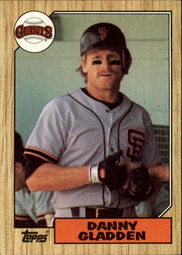 Photo of 1987 Topps #46 Dan Gladden