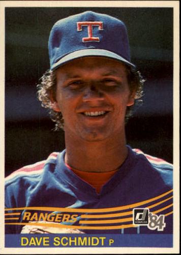 Photo of 1984 Donruss #586 Dave Schmidt