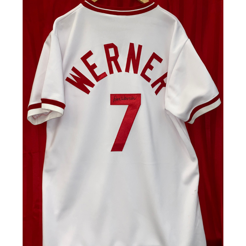 Photo of Don Werner Signed Jersey