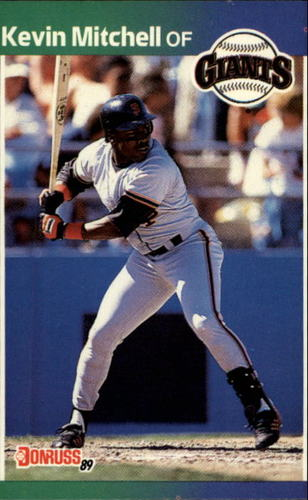Photo of 1989 Donruss #485 Kevin Mitchell