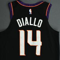 Cheick Diallo - Phoenix Suns - Game-Worn City Edition Jersey - 2019-20 NBA Season