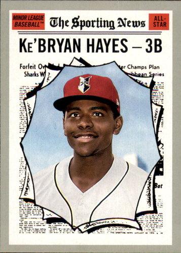 Photo of 2019 Topps Heritage Minors #188 Ke'Bryan Hayes AS