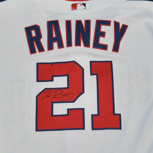 Photo of Washington Nationals Philanthropies Jerseys Off Their Back Auction - Tanner Rainey - Autographed Team-Issued Jersey - Size 48 - NOT MLB Authenticated - Certificate of Authenticity Included