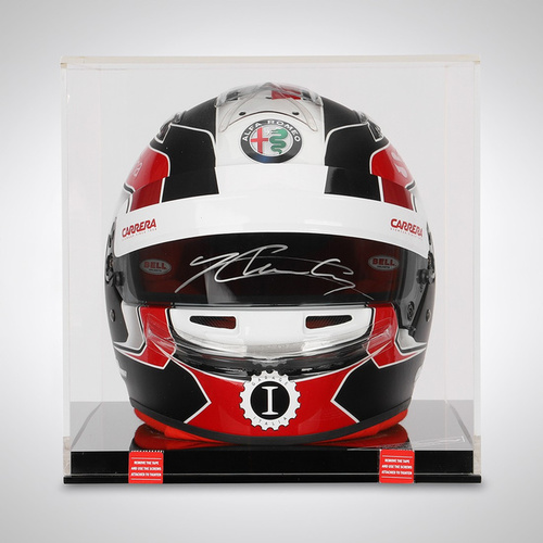 Photo of CHARLES LECLERC 2018 SIGNED 1:1 OFFICIAL REPLICA HELMET