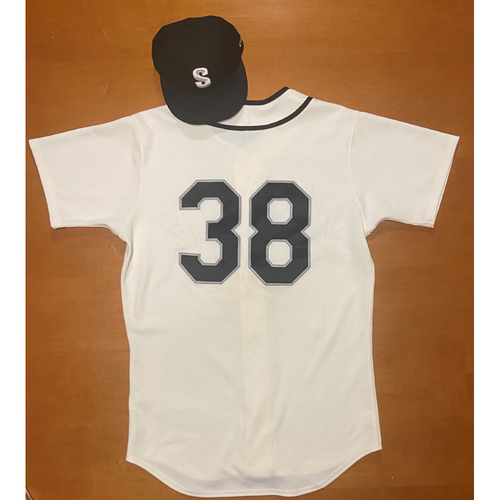 Photo of 2021 Game Used Seattle Steelheads Salute to Negro Leagues Uniform - #38 Anthony Misiewicz