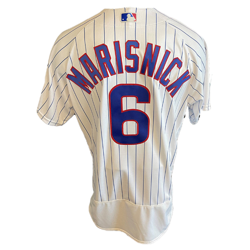 Photo of Jake Marisnick Game-Used Jersey -- Cardinals vs. Cubs -- 7/10/21 -- Size 46