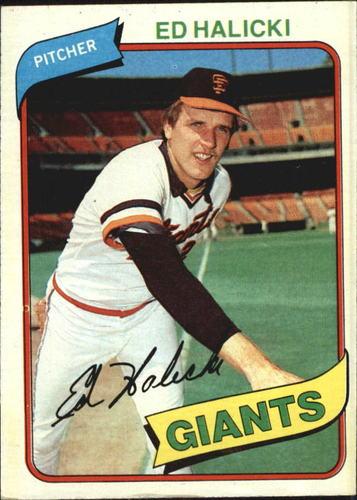 Photo of 1980 Topps #217 Ed Halicki