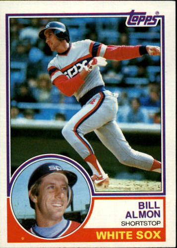 Photo of 1983 Topps #362 Bill Almon