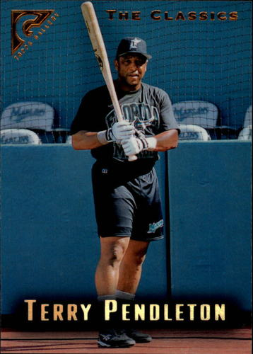 Photo of 1996 Topps Gallery #71 Terry Pendleton