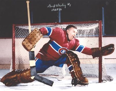 GUMP WORSLEY Montreal Canadiens SIGNED 8x10 Photo