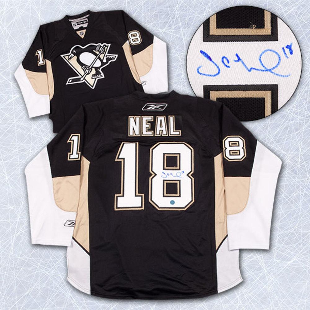 JAMES NEAL Pittsburgh Penguins SIGNED NHL Premier Hockey Jersey