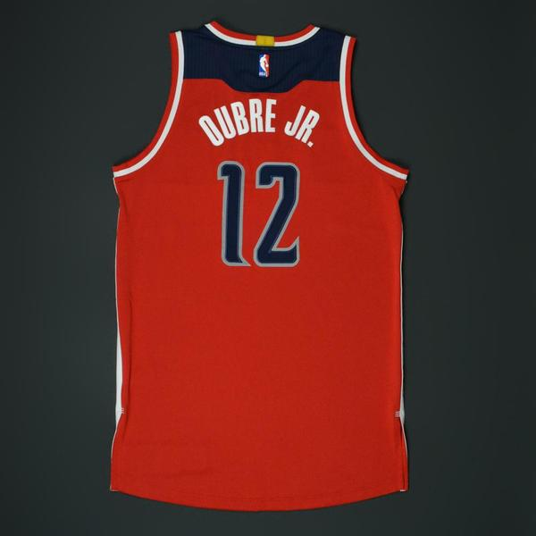 Kelly Oubre Jr. - Washington Wizards - Game-Worn  Chinese New Year ... 091f12bc1