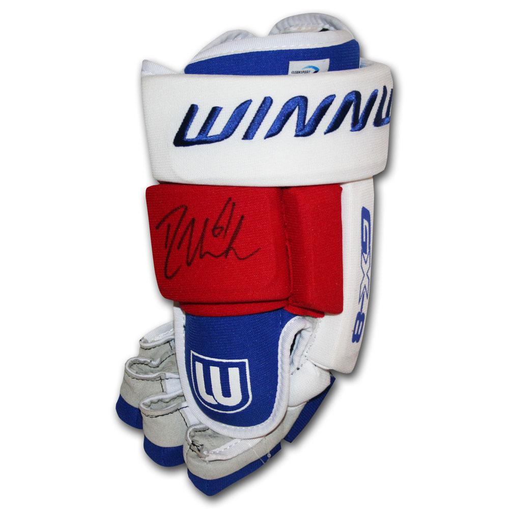 Rick Nash Autographed Winnwell Hockey Glove (New York Rangers)