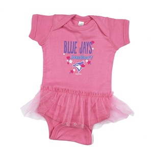 Toronto Blue Jays Infant Throwback Tutu Creeper by Bimm Ridder