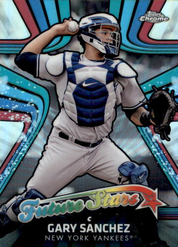 Photo of 2017 Topps Chrome Future Stars #FS1 Gary Sanchez