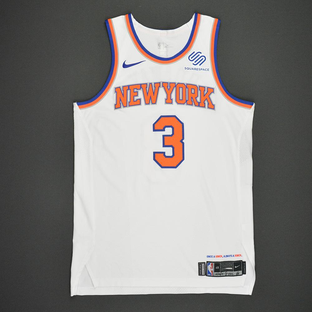 beb4c41e2ce Tim Hardaway Jr - New York Knicks - Kia NBA Tip-Off 2017 - Game-Worn ...