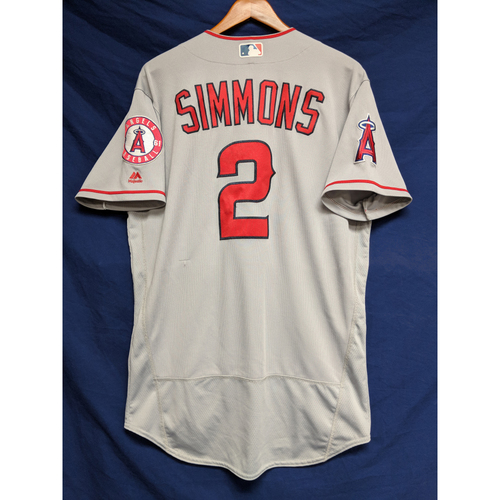 Photo of Andrelton Simmons Team-Issued Road Jersey