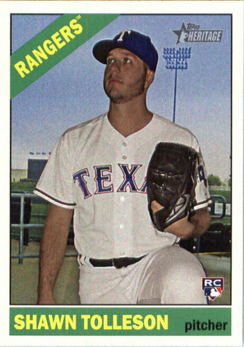 Photo of 2015 Topps Heritage #584 Shawn Tolleson RC