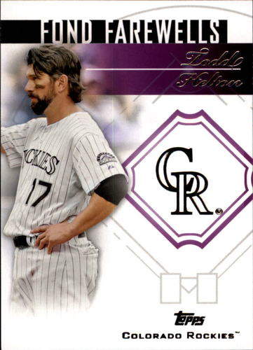 Photo of 2014 Topps Update Fond Farewells #FFTH Todd Helton