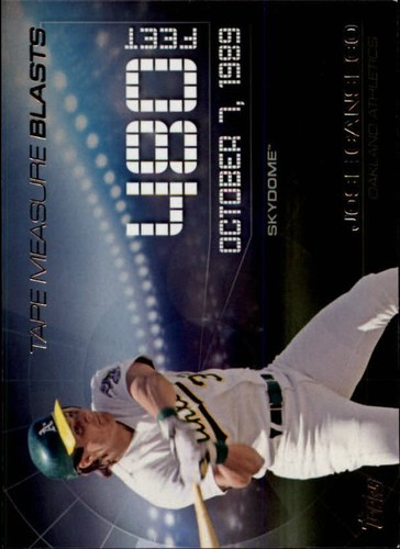 Photo of 2015 Topps Update Tape Measure Blasts #TMB1 Jose Canseco