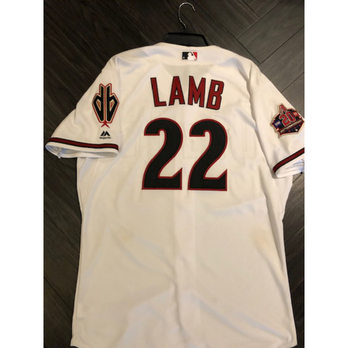 Photo of 2018 Game-Used Jersey - 2017 All Star #22 Jake Lamb