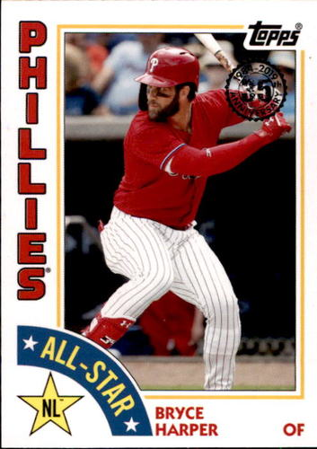 Photo of 2019 Topps '84 Topps All Stars #84ASBH Bryce Harper