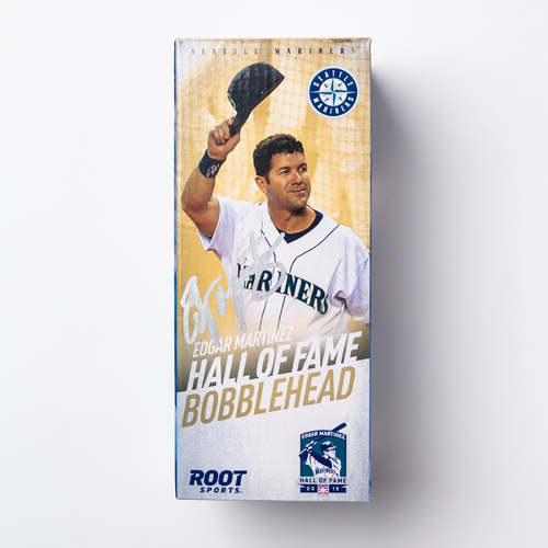 Photo of Mariners Care: Autographed Edgar Martinez Hall of Fame Bobblehead
