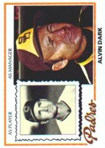 Photo of 1978 Topps #467 Alvin Dark MG
