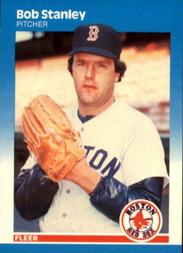 Photo of 1987 Fleer #47 Bob Stanley