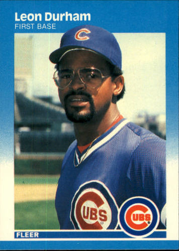Photo of 1987 Fleer #562 Leon Durham