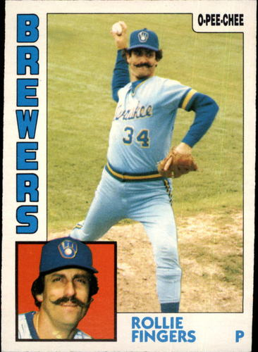 Photo of 1984 O-Pee-Chee #283 Rollie Fingers