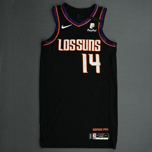 Image of Cheick Diallo - Phoenix Suns - Game-Worn City Edition Jersey - 2019-20 NBA Season